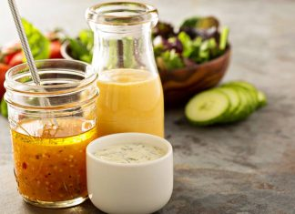 Salad is Only as Healthy as Your Dressing