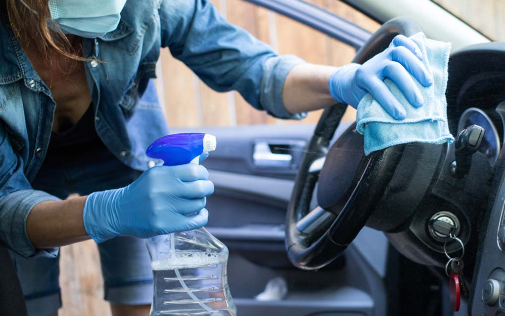 How to Sanitize Your Car to Avoid Getting Sick This Fall